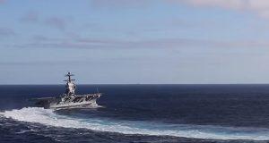 Στροφή αλα μπάντα για το αεροπλανοφόρο USS Gerald R. Ford αξίας 12,9 δις δολαρίων