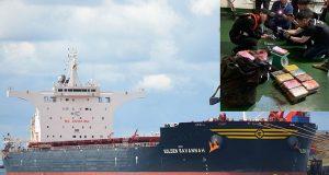 100 κιλά κοκαΐνης βρεθήκαν σε φορτηγό πλοίο- Συνελήφθη ο καπετάνιος και ο υποπλοίαρχος