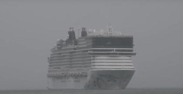 Στον Πειραιά για πρώτη φορά το Norwegian Epic [video]