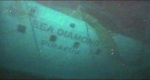 Διαγωνισμός για την ανέλκυση του κρουαζιερόπλοιου Sea Diamond