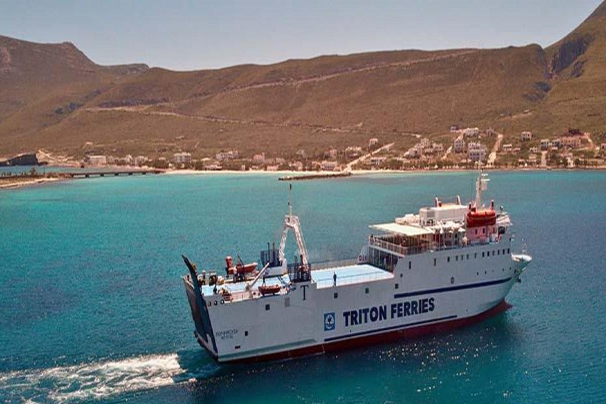 Απώλεια καταπέλτη Ε/Γ – Ο/Γ πλοίου στη Νεάπολη Βοιών - e-Nautilia.gr | Το Ελληνικό Portal για την Ναυτιλία. Τελευταία νέα, άρθρα, Οπτικοακουστικό Υλικό