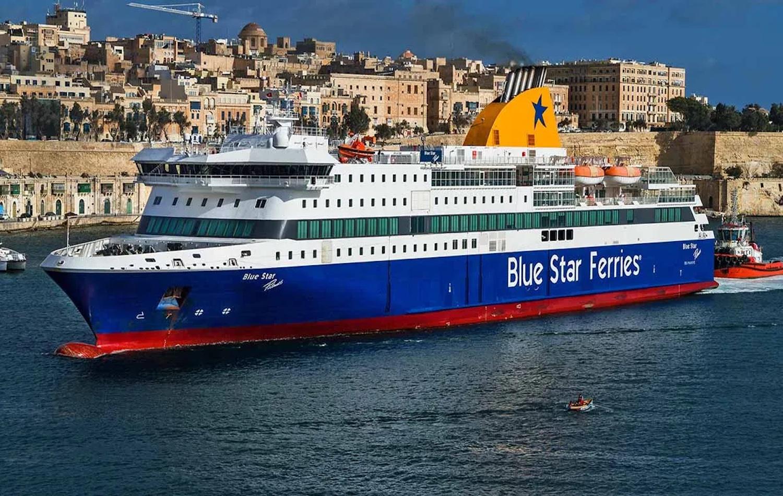 Προσέκρουσε στο λιμάνι το Blue Star Patmos - e-Nautilia.gr | Το Ελληνικό Portal για την Ναυτιλία. Τελευταία νέα, άρθρα, Οπτικοακουστικό Υλικό
