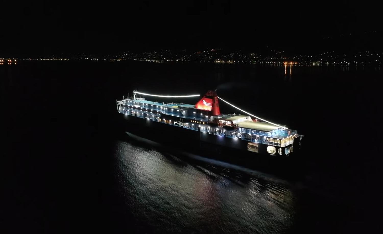 Ο συγκινητικός χαιρετισμός του Νήσος Σάμος στον Άγιο Νικόλαο Βροντάδου στη Χίο (video & photo) - e-Nautilia.gr | Το Ελληνικό Portal για την Ναυτιλία. Τελευταία νέα, άρθρα, Οπτικοακουστικό Υλικό
