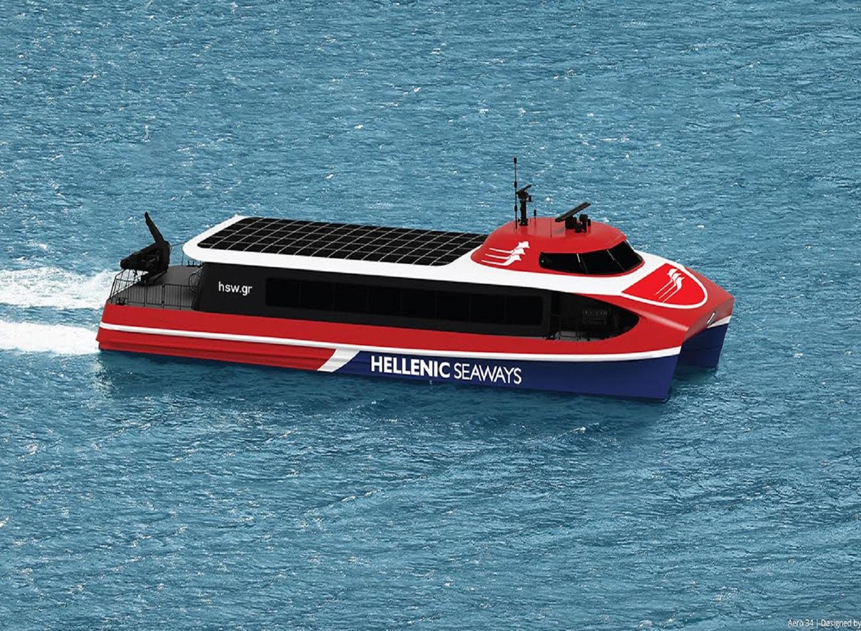 Συμφωνία για τη ναυπήγησητριών τριών υπερσύγχρονων πλοίων τύπου AeroCatamaranγια τις γραμμές του Αργοσαρωνικού - e-Nautilia.gr | Το Ελληνικό Portal για την Ναυτιλία. Τελευταία νέα, άρθρα, Οπτικοακουστικό Υλικό