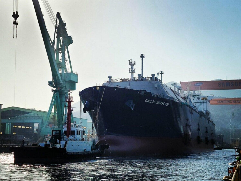 Καθελκύστηκε το νεότευκτο πλοίο LNG GasLog Winchester της Gaslog - e-Nautilia.gr | Το Ελληνικό Portal για την Ναυτιλία. Τελευταία νέα, άρθρα, Οπτικοακουστικό Υλικό