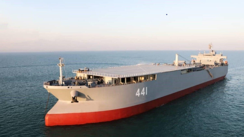 Ιρανικό ναυτικό: Μετασκευή τάνκερ σε ελικοπτεροφόρο - e-Nautilia.gr | Το Ελληνικό Portal για την Ναυτιλία. Τελευταία νέα, άρθρα, Οπτικοακουστικό Υλικό