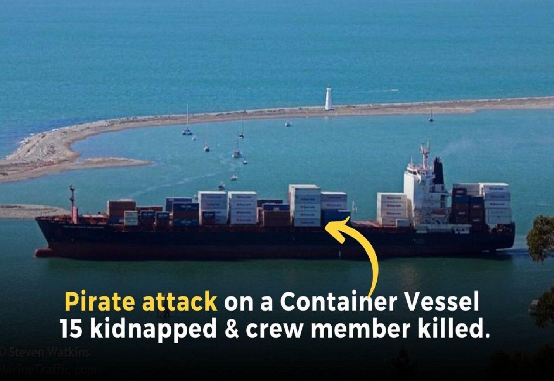 Κόλπος Γουινέας: Πειρατική επίθεση με ένα νεκρό και 15 μέλη του πληρώματος να έχουν απαχθεί! - e-Nautilia.gr | Το Ελληνικό Portal για την Ναυτιλία. Τελευταία νέα, άρθρα, Οπτικοακουστικό Υλικό
