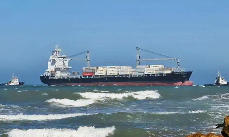 Προσάραξη πλοίου κοντέινερ στην Αργεντινή - e-Nautilia.gr | Το Ελληνικό Portal για την Ναυτιλία. Τελευταία νέα, άρθρα, Οπτικοακουστικό Υλικό