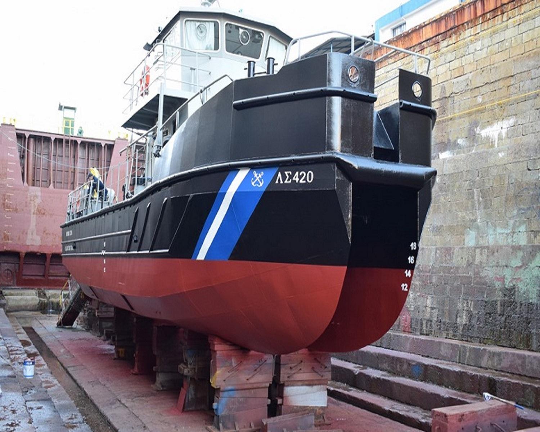ΟΛΠ: Άνευ Ανταλλάγματος Δεξαμενισμός του Αντιρρυπαντικού Σκάφους ΠΛΣ-420 - e-Nautilia.gr | Το Ελληνικό Portal για την Ναυτιλία. Τελευταία νέα, άρθρα, Οπτικοακουστικό Υλικό