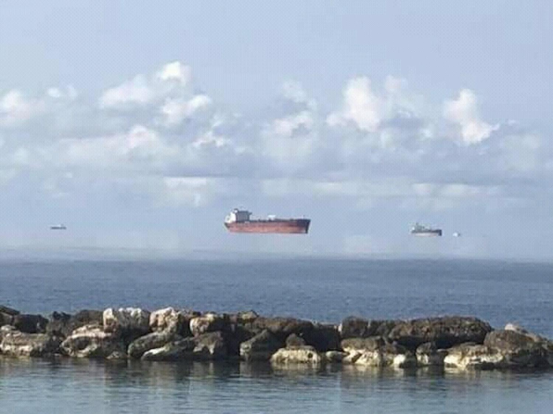 Και άλλα «αιωρούμενα» πλοία στις βρετανικές θάλασσες- Τι είναι η Fata Morgana - e-Nautilia.gr | Το Ελληνικό Portal για την Ναυτιλία. Τελευταία νέα, άρθρα, Οπτικοακουστικό Υλικό