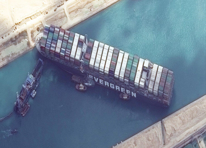 Η συμφόρηση των πλοίων στο κανάλι του Σουέζ όπως φαίνεται από το διάστημα - e-Nautilia.gr | Το Ελληνικό Portal για την Ναυτιλία. Τελευταία νέα, άρθρα, Οπτικοακουστικό Υλικό