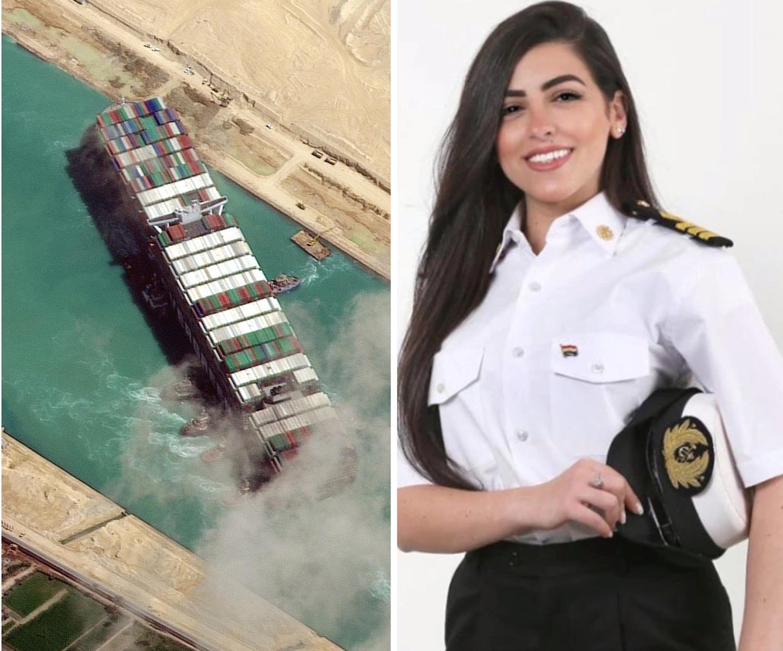Απίστευτο: Η πρώτη γυναίκα καπετάνιος της Αιγύπτου κατηγορείται για το μπλοκάρισμα του Σουέζ - e-Nautilia.gr   Το Ελληνικό Portal για την Ναυτιλία. Τελευταία νέα, άρθρα, Οπτικοακουστικό Υλικό