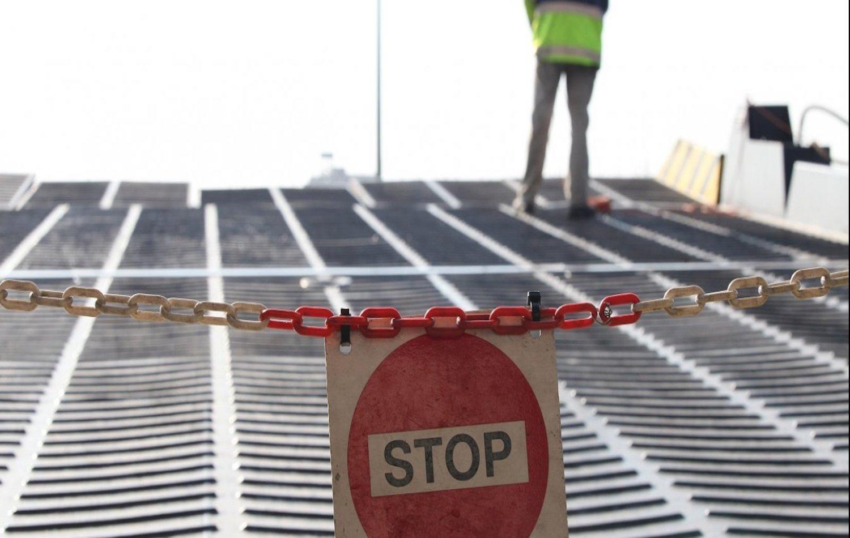 Θήρα: Απαγόρευση απόπλου λόγω αποκόλλησης καταπέλτη - e-Nautilia.gr | Το Ελληνικό Portal για την Ναυτιλία. Τελευταία νέα, άρθρα, Οπτικοακουστικό Υλικό