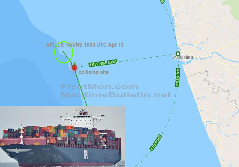 Πλοίο container συγκρούστηκε με αλιευτικό – 3 νεκροί και 9 αγνοούμενοι - e-Nautilia.gr | Το Ελληνικό Portal για την Ναυτιλία. Τελευταία νέα, άρθρα, Οπτικοακουστικό Υλικό