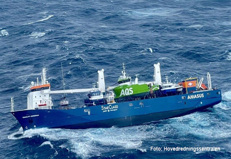Φορτηγό πλοίο κινδυνεύει με ανατροπή μετά από μετατόπιση φορτίου! (UPDATE) - e-Nautilia.gr | Το Ελληνικό Portal για την Ναυτιλία. Τελευταία νέα, άρθρα, Οπτικοακουστικό Υλικό
