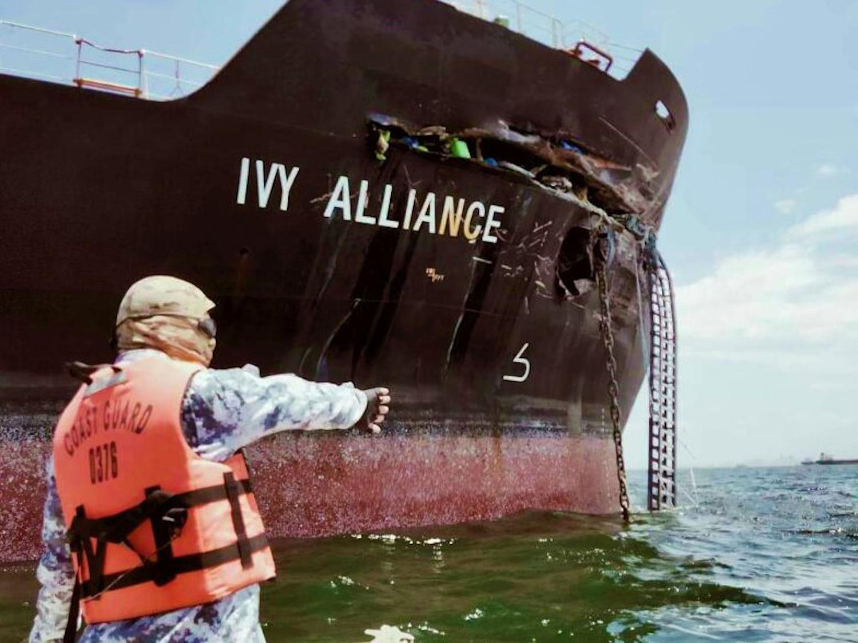Τάνκερ της εταιρείας Maersk συγκρούστηκε με φορτηγό πλοίο του ομίλου Λάτση στις Φιλιππίνες (Video) - e-Nautilia.gr | Το Ελληνικό Portal για την Ναυτιλία. Τελευταία νέα, άρθρα, Οπτικοακουστικό Υλικό