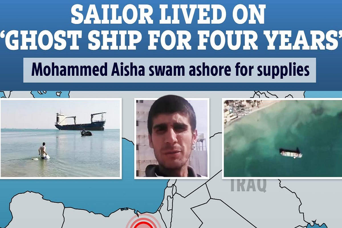 Nαυτικός επιστρέφει σπίτι του- Πέρασε 4 χρόνια πάνω σε ένα εγκαταλελειμμένο πλοίο (video) - e-Nautilia.gr | Το Ελληνικό Portal για την Ναυτιλία. Τελευταία νέα, άρθρα, Οπτικοακουστικό Υλικό