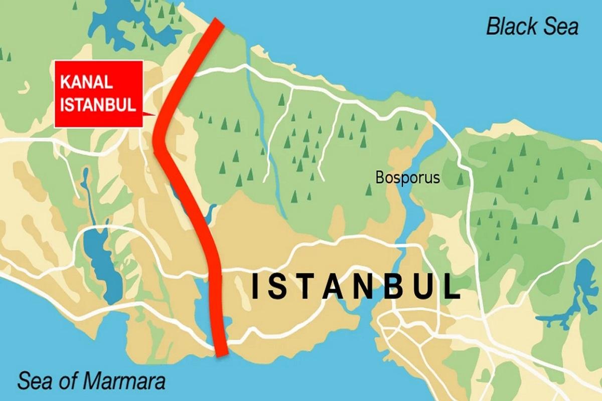 Η Τουρκία προχωράει στα σχέδια για την κατασκευή του νέου καναλιού - e-Nautilia.gr   Το Ελληνικό Portal για την Ναυτιλία. Τελευταία νέα, άρθρα, Οπτικοακουστικό Υλικό