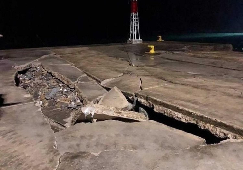Κατέρρευσε το λιμάνι των Ψαρών - e-Nautilia.gr | Το Ελληνικό Portal για την Ναυτιλία. Τελευταία νέα, άρθρα, Οπτικοακουστικό Υλικό