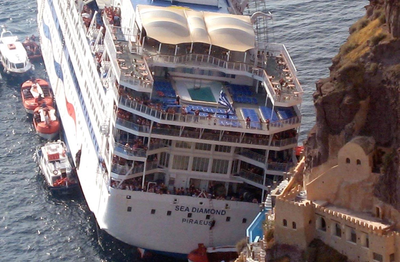 14 χρόνια από το ναυάγιο του «Sea Diamond» (Video) - e-Nautilia.gr   Το Ελληνικό Portal για την Ναυτιλία. Τελευταία νέα, άρθρα, Οπτικοακουστικό Υλικό
