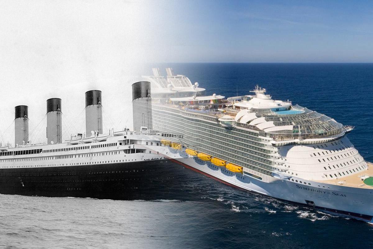 Συγκρίνοντας τον Τιτανικό με ένα σύγχρονο κρουαζιερόπλοιο - e-Nautilia.gr | Το Ελληνικό Portal για την Ναυτιλία. Τελευταία νέα, άρθρα, Οπτικοακουστικό Υλικό