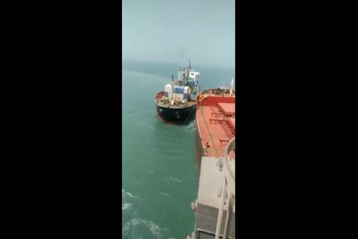 Πλοίο προσέκρουσε σε πλοίο που ήταν δεμένο σε ντόκο στην Ινδία (video) - e-Nautilia.gr | Το Ελληνικό Portal για την Ναυτιλία. Τελευταία νέα, άρθρα, Οπτικοακουστικό Υλικό