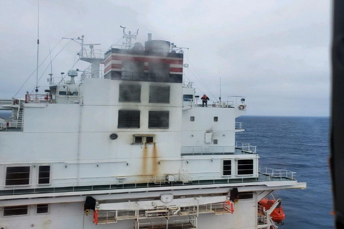 ΒΙΝΤΕΟ: Ακυβέρνητο έμεινε πλοίο container λόγω πυρκαγιάς στο μηχανοστάσιο - e-Nautilia.gr | Το Ελληνικό Portal για την Ναυτιλία. Τελευταία νέα, άρθρα, Οπτικοακουστικό Υλικό