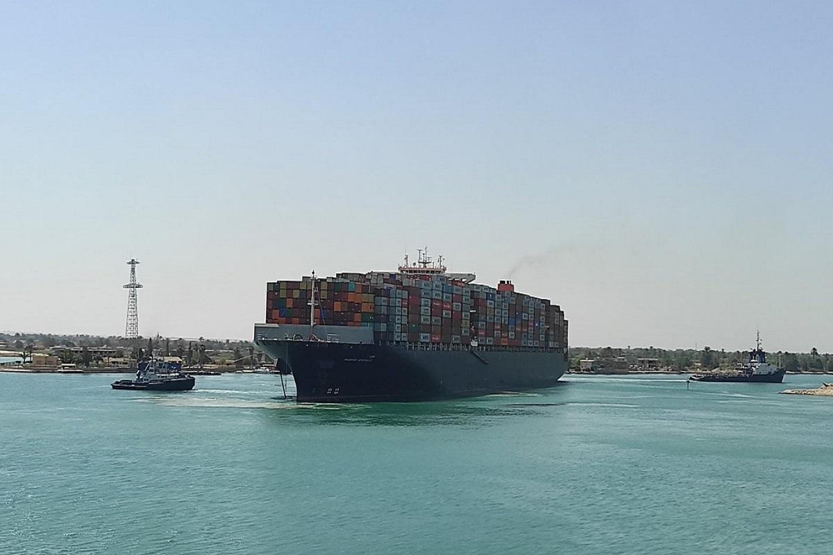 Έκτακτο: νέο περιστατικό στο κανάλι του Σουέζ με πλοίο κοντέινερ (photos) - e-Nautilia.gr | Το Ελληνικό Portal για την Ναυτιλία. Τελευταία νέα, άρθρα, Οπτικοακουστικό Υλικό