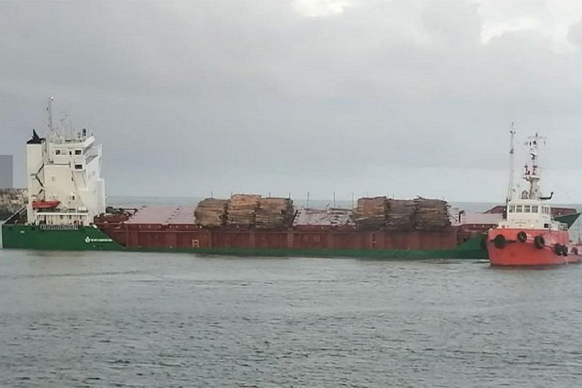 Πορτογαλία: Κορμοί έπεσαν στη θάλασσα από φορτηγό πλοίο κλείνοντας το λιμάνι - e-Nautilia.gr | Το Ελληνικό Portal για την Ναυτιλία. Τελευταία νέα, άρθρα, Οπτικοακουστικό Υλικό