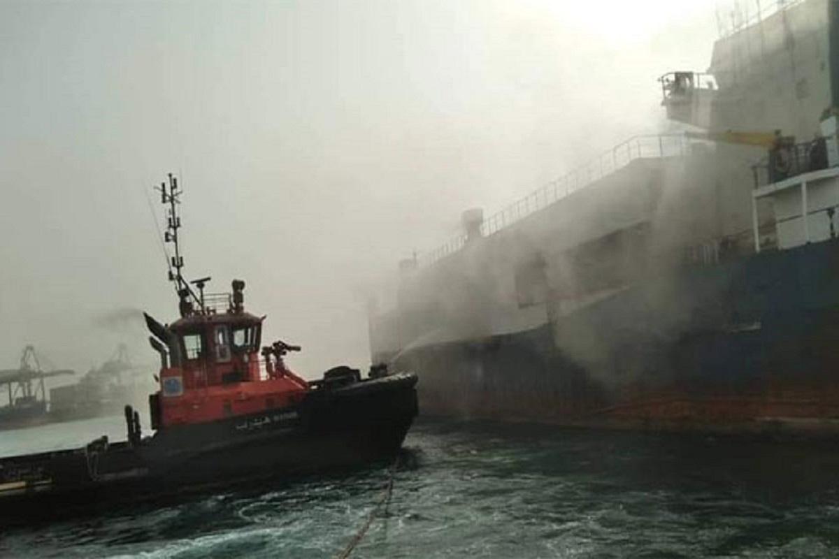 Εκτεταμένες ζημιές από πυρκαγιά που ξέσπασε σε πλοίο μεταφοράς οχημάτων - e-Nautilia.gr | Το Ελληνικό Portal για την Ναυτιλία. Τελευταία νέα, άρθρα, Οπτικοακουστικό Υλικό