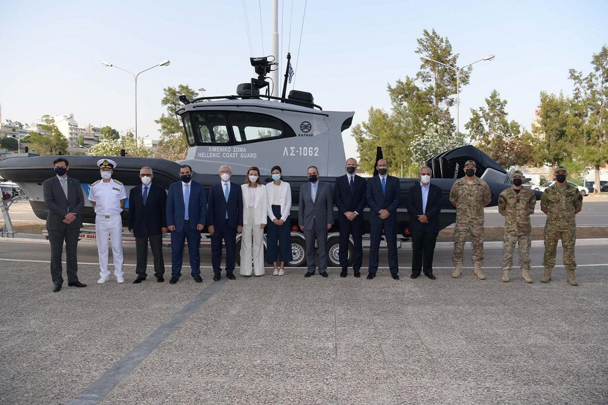 Εντάχθηκαν στον στόλο του Λιμενικού Σώματος τα 4 τελευταία υπερσύγχρονα ταχύπλοα περιπολικά σκάφη, χορηγία της ΣΥΝ-ΕΝΩΣΙΣ (photo) - e-Nautilia.gr   Το Ελληνικό Portal για την Ναυτιλία. Τελευταία νέα, άρθρα, Οπτικοακουστικό Υλικό