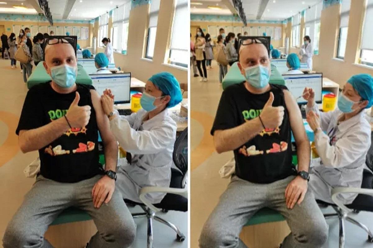 Παναγιώτης Κατσινέλλος: Ο εμβολιασμός στην Κίνα Έλληνα επιθεωρητή του Bureau Veritas - e-Nautilia.gr | Το Ελληνικό Portal για την Ναυτιλία. Τελευταία νέα, άρθρα, Οπτικοακουστικό Υλικό