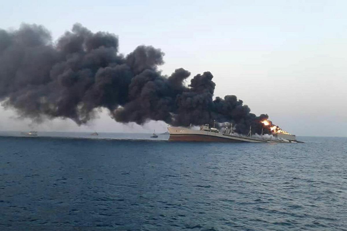 Βυθίστηκε το μεγαλύτερο ιρανικό πολεμικό πλοίο στον κόλπο του Ομάν - e-Nautilia.gr   Το Ελληνικό Portal για την Ναυτιλία. Τελευταία νέα, άρθρα, Οπτικοακουστικό Υλικό
