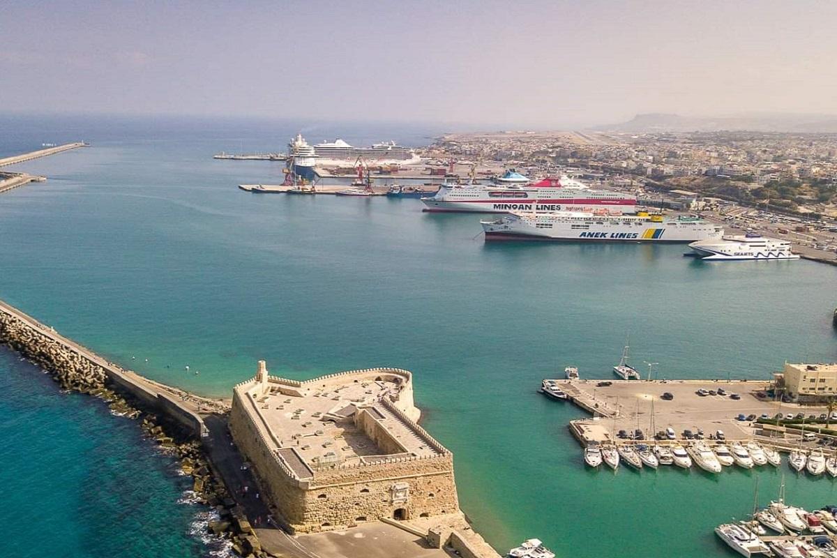 Ποια σημεία εξαιρούνται από την παραχώρηση του ενετικού λιμένα Ηρακλείου - e-Nautilia.gr | Το Ελληνικό Portal για την Ναυτιλία. Τελευταία νέα, άρθρα, Οπτικοακουστικό Υλικό