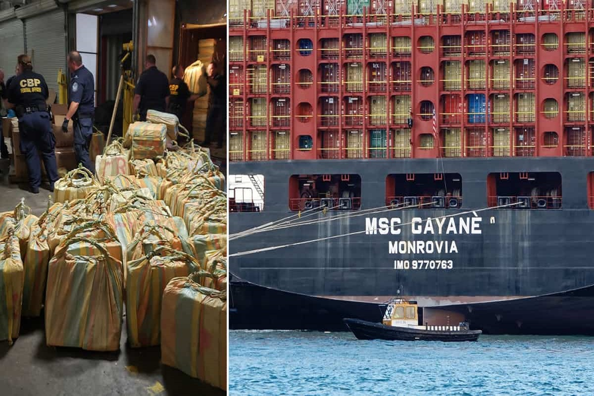 Η μέγιστη ποινή επιβλήθηκε στον υποπλοίαρχο του πλοίου κοντέινερ MSC Gayane για διακίνηση κοκαΐνης αξίας 1 δις δολαρίων! - e-Nautilia.gr   Το Ελληνικό Portal για την Ναυτιλία. Τελευταία νέα, άρθρα, Οπτικοακουστικό Υλικό