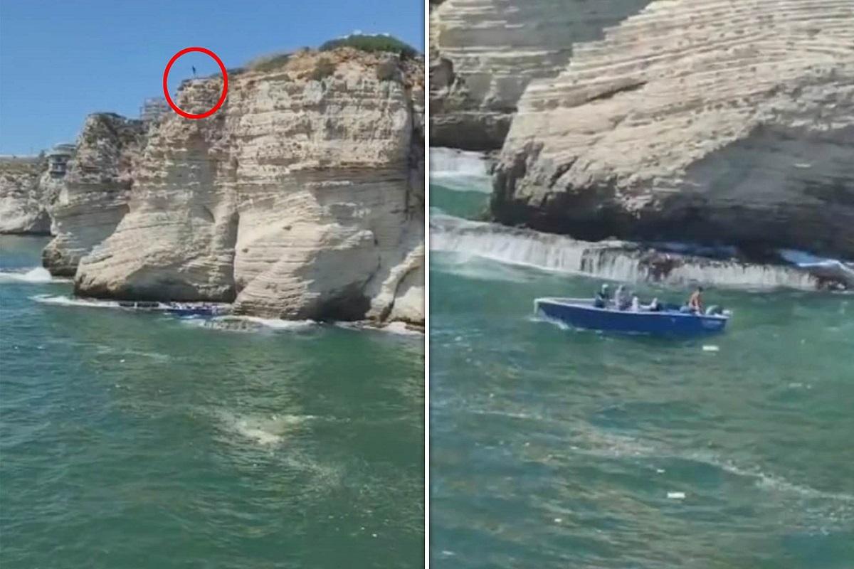 Συγκλονιστικό βίντεο: Άντρας πηδάει από τα 37 μέτρα και πέφτει επάνω σε σκάφος και σκοτώνεται- τραυματίστηκε ο κυβερνήτης - e-Nautilia.gr   Το Ελληνικό Portal για την Ναυτιλία. Τελευταία νέα, άρθρα, Οπτικοακουστικό Υλικό