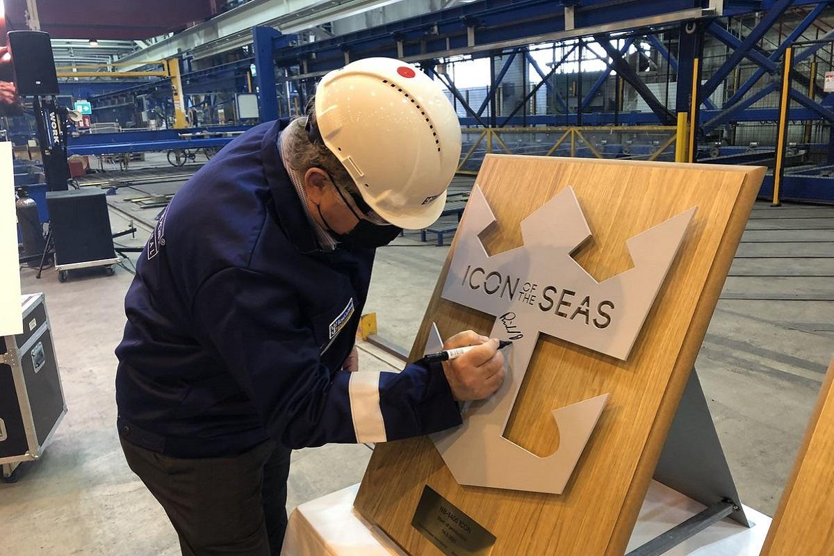 Royal Caribbean: Ξεκινά η κατασκευή του πρώτου της LNG κρουαζιερόπλοιου - e-Nautilia.gr | Το Ελληνικό Portal για την Ναυτιλία. Τελευταία νέα, άρθρα, Οπτικοακουστικό Υλικό