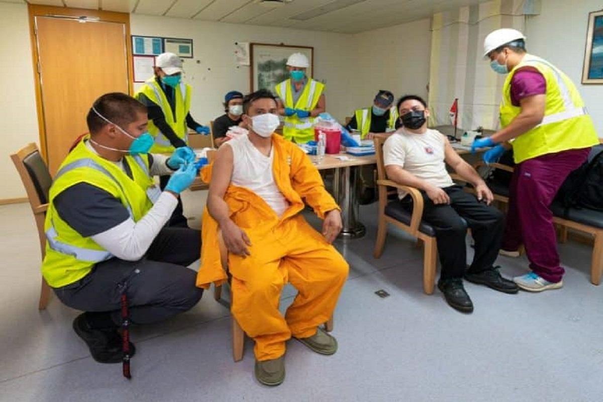 452 μέλη πληρωμάτων από 27 πλοία έχουν εμβολιαστεί στα λιμάνια του Λος Άντζελες και του Λονγκ Μπιτς (photos) - e-Nautilia.gr | Το Ελληνικό Portal για την Ναυτιλία. Τελευταία νέα, άρθρα, Οπτικοακουστικό Υλικό