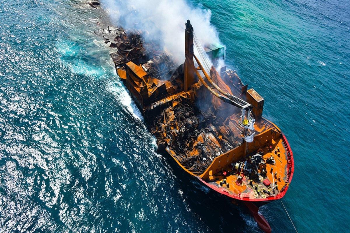 Συνελήφθη ο καπετάνιος του X-Press Pearl - e-Nautilia.gr   Το Ελληνικό Portal για την Ναυτιλία. Τελευταία νέα, άρθρα, Οπτικοακουστικό Υλικό