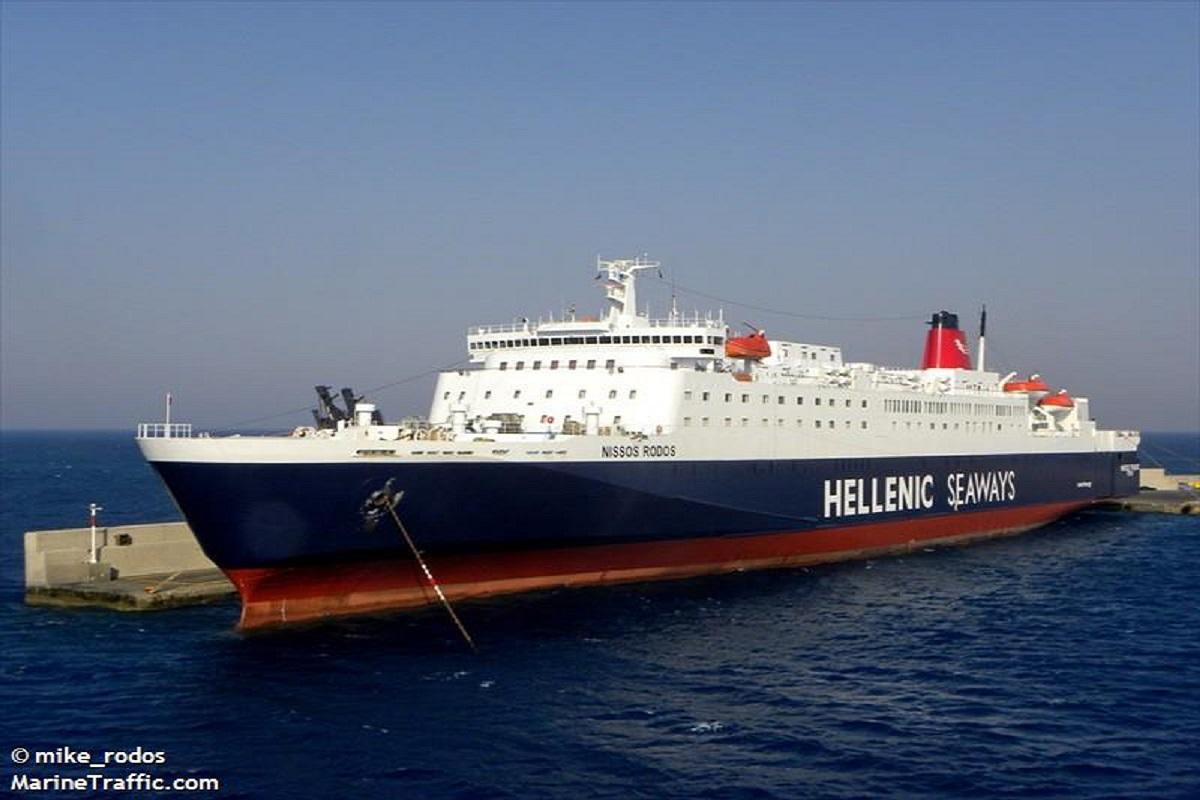Τραυματισμός ναυτικού του «Νήσος Ρόδος» - e-Nautilia.gr | Το Ελληνικό Portal για την Ναυτιλία. Τελευταία νέα, άρθρα, Οπτικοακουστικό Υλικό
