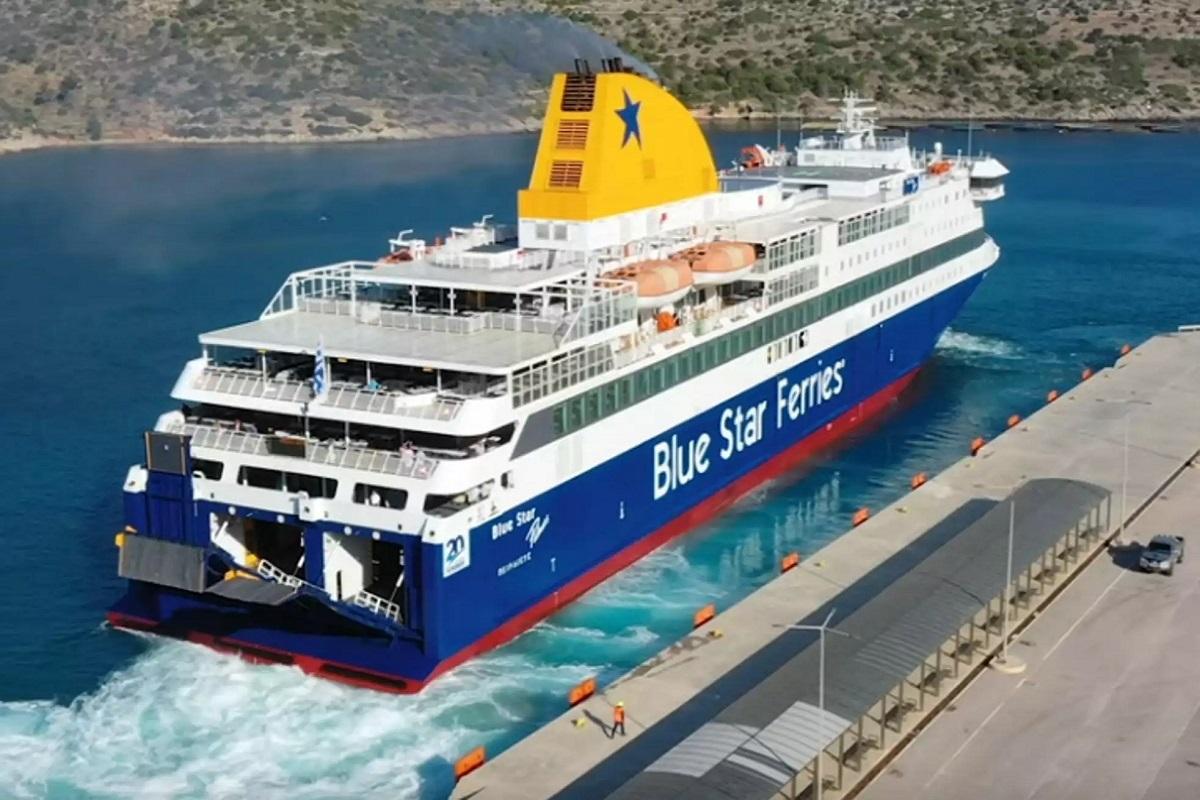 Τραυματισμός ναυτικού στο «Blue Star Patmos» - e-Nautilia.gr | Το Ελληνικό Portal για την Ναυτιλία. Τελευταία νέα, άρθρα, Οπτικοακουστικό Υλικό