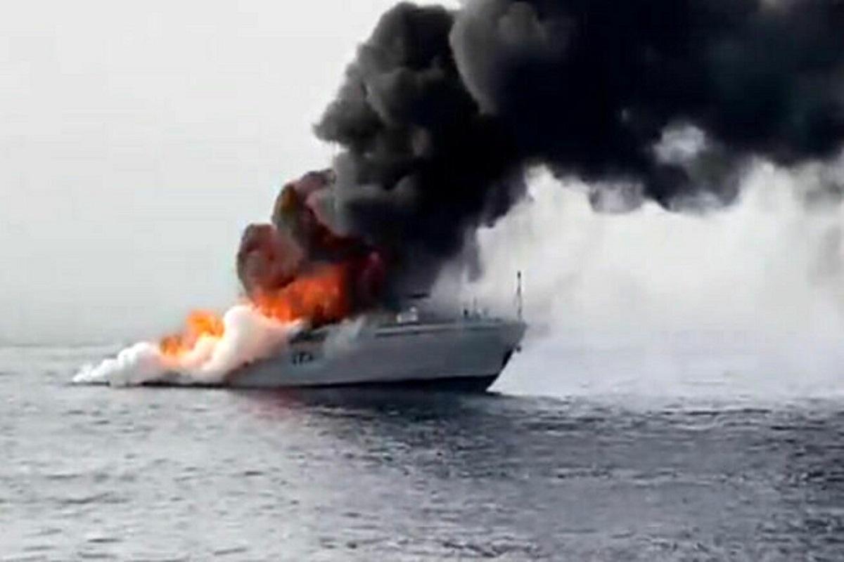 ΒΙΝΤΕΟ: Περιπολικό σκάφος της Ιταλικής Ακτοφυλακής βυθίστηκε μετά από πυρκαγιά - e-Nautilia.gr | Το Ελληνικό Portal για την Ναυτιλία. Τελευταία νέα, άρθρα, Οπτικοακουστικό Υλικό