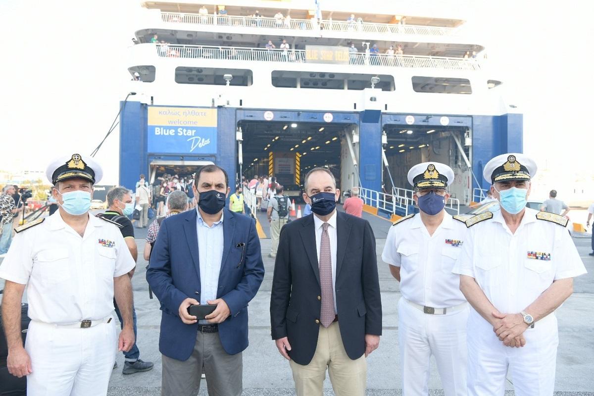 Πλακιωτάκης από το λιμάνι του Πειραιά: Στόχος η επιστροφή στην κανονικότητα - e-Nautilia.gr | Το Ελληνικό Portal για την Ναυτιλία. Τελευταία νέα, άρθρα, Οπτικοακουστικό Υλικό