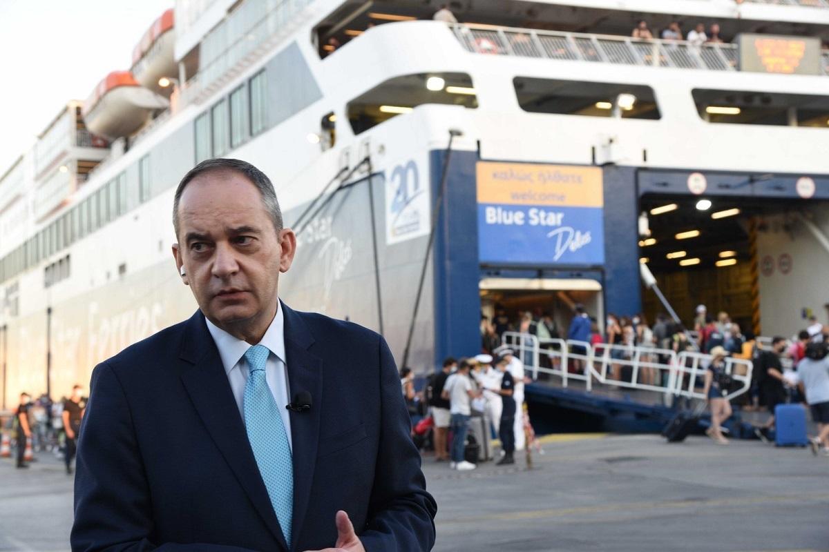 Πλακιωτάκης: Δεν έχει επιτραπεί επιβίβαση σε πάνω από 22.000 επιβάτες - e-Nautilia.gr   Το Ελληνικό Portal για την Ναυτιλία. Τελευταία νέα, άρθρα, Οπτικοακουστικό Υλικό