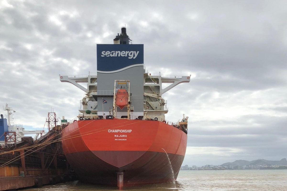 Seanergy: Παραλαβή του 17ου Capesize πλοίου της και ταυτόχρονη έναρξη χρονοναύλωσης στα $31.750 την ημέρα