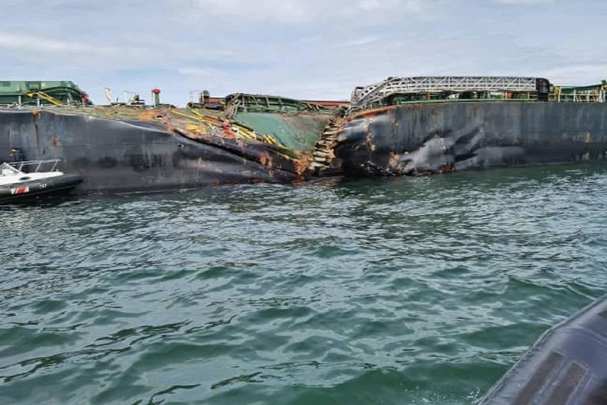 Η βλάβη στο πηδάλιο, η πιθανή αιτία της σύγκρουσης στα στενά της Μαλάκκα (photos) - e-Nautilia.gr | Το Ελληνικό Portal για την Ναυτιλία. Τελευταία νέα, άρθρα, Οπτικοακουστικό Υλικό