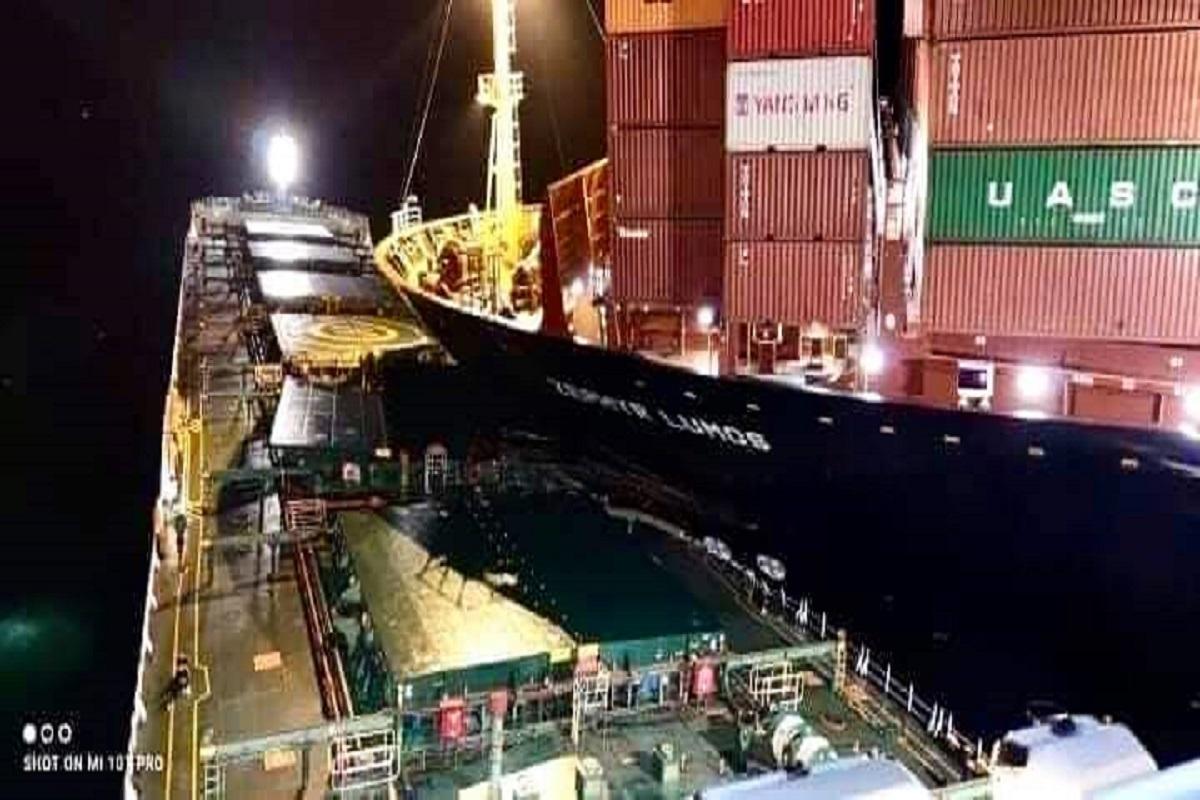 Σύγκρουση mega πλοίου κοντέινερ με φορτηγό πλοίο στα στενά της Μαλάκκα  (photos & video) - e-Nautilia.gr | Το Ελληνικό Portal για την Ναυτιλία. Τελευταία νέα, άρθρα, Οπτικοακουστικό Υλικό