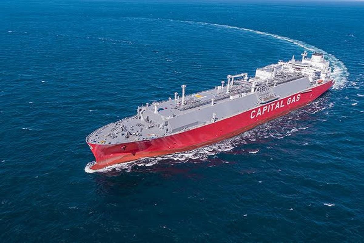 Η Capital Gas παρέλαβε το νεότευκτο LNG Carrier «Adamastos» - e-Nautilia.gr   Το Ελληνικό Portal για την Ναυτιλία. Τελευταία νέα, άρθρα, Οπτικοακουστικό Υλικό