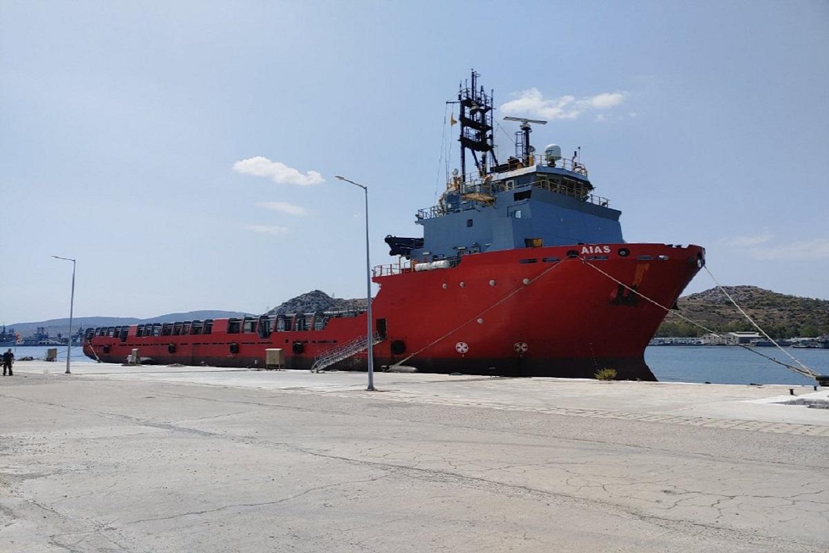 Στο ναύσταθμο Σαλαμίνας κατέπλευσε το πλοίο «Αίας» - e-Nautilia.gr | Το Ελληνικό Portal για την Ναυτιλία. Τελευταία νέα, άρθρα, Οπτικοακουστικό Υλικό