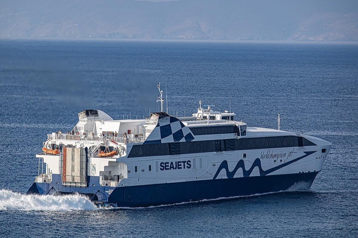 Εισροή υδάτων στο «Power Jet» – Επέστρεψε στη Σαντορίνη - e-Nautilia.gr   Το Ελληνικό Portal για την Ναυτιλία. Τελευταία νέα, άρθρα, Οπτικοακουστικό Υλικό